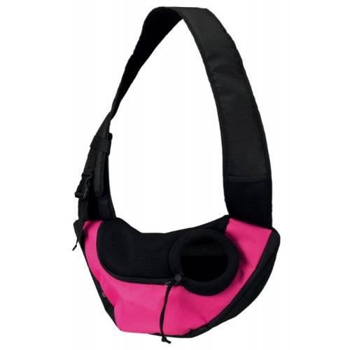 Sac ventral sling rose pour chien trixie auberdog - Sac ventral pour chien ...