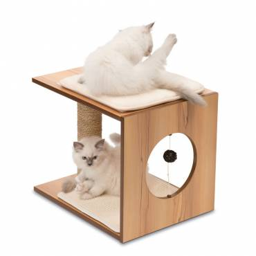 Griffoir V-Stool Walnut pour chat - 4