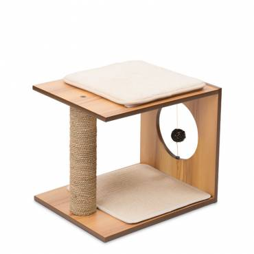 Griffoir V-Stool Walnut pour chat - 5