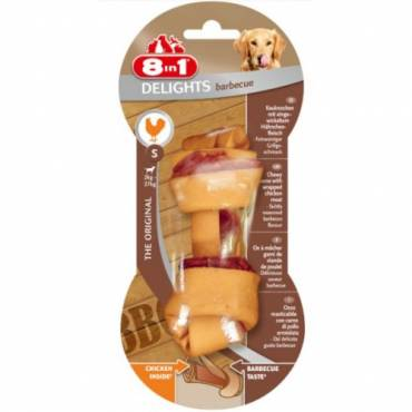 Os Delights Barbecue  pour chien - 8 in 1