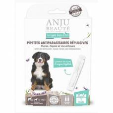 Pipettes antiparasitaires répulsives grand chien