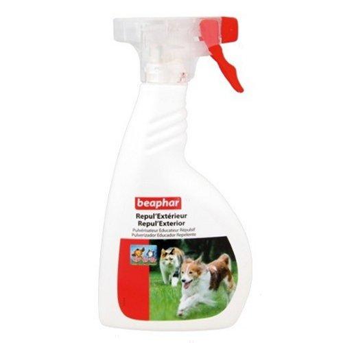 Spray repul 39 ext rieur chien et chat pour chien beaphar for Repulsif chien et chat exterieur