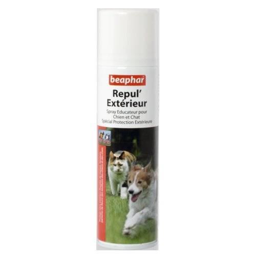 spray repul 39 ext rieur chien et chat pour chien beaphar. Black Bedroom Furniture Sets. Home Design Ideas