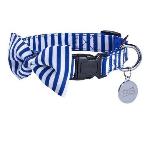 Prix 50% fournisseur officiel ramassé Collier avec noeud papillon Marina bleu
