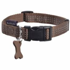 Collier chien Safe marron
