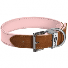 Collier Hasard pour chien ROSE