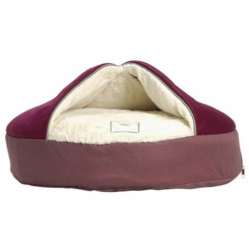 coussin cocoon bordeaux pour chien bobby auberdog. Black Bedroom Furniture Sets. Home Design Ideas
