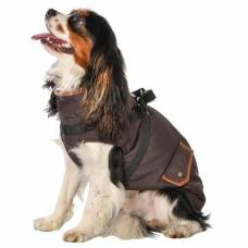 Manteau chien Trotte marron