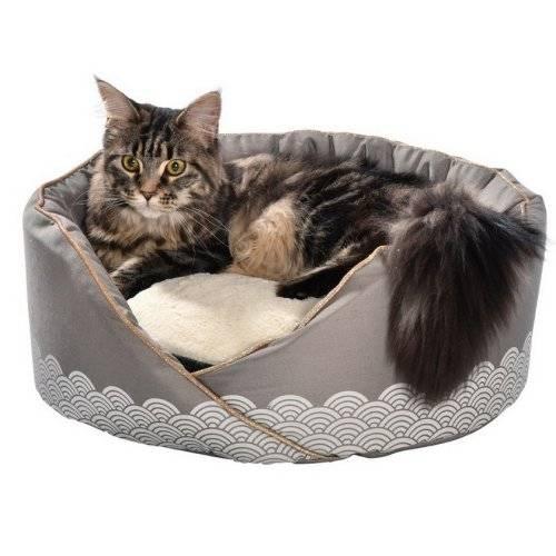 panier nid seigaiha taupe pour chien bobby auberdog. Black Bedroom Furniture Sets. Home Design Ideas