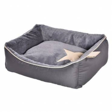 Panier Star gris pour chat - Bobby