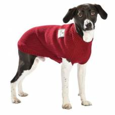 Pull chien School rouge