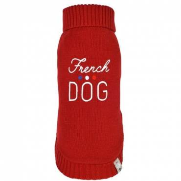 Pull French rouge  pour chien - 2