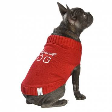 Pull French rouge  pour chien - 1