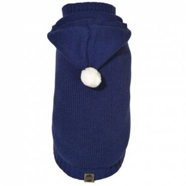 Pull Lupin bleu pour chien - 1