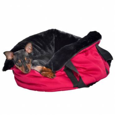 Sac Moelleux rose pour chat - 3