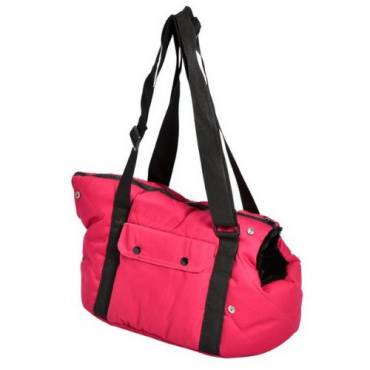 Sac Moelleux rose pour chat - 2