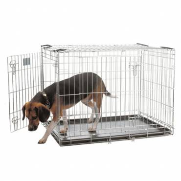 cage pliable dog residence pour chien savic auberdog. Black Bedroom Furniture Sets. Home Design Ideas