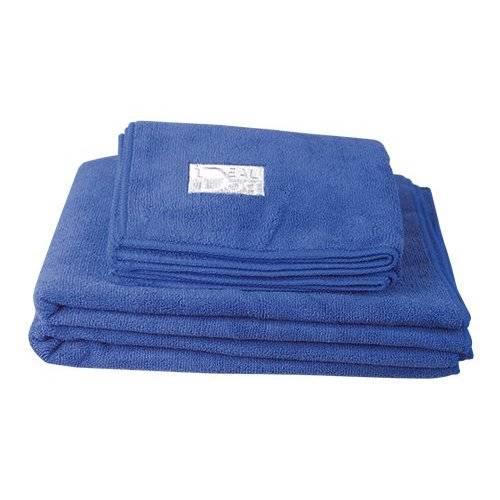Serviette de toilettage Microfibre bleu pour chien