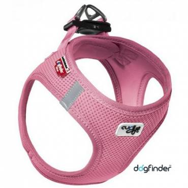 Harnais Curli Air Mesh rose pour chat - Curli