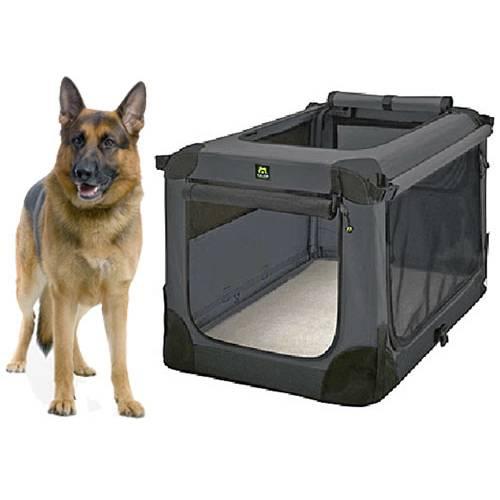 Cage souple pour chien