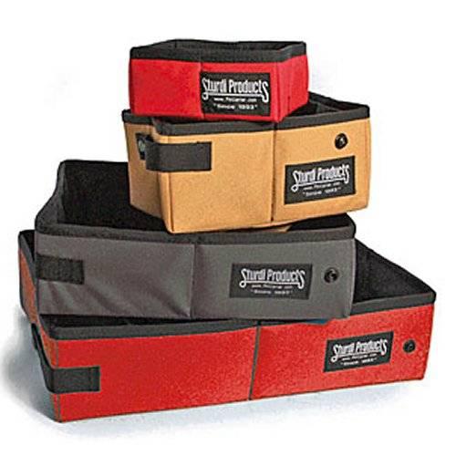 gamelle de voyage sturdi box rouge pour chien difac auberdog. Black Bedroom Furniture Sets. Home Design Ideas
