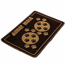 Tapis pour gamelle Dinner Mate marron