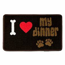 Tapis pour gamelle I love my dinner