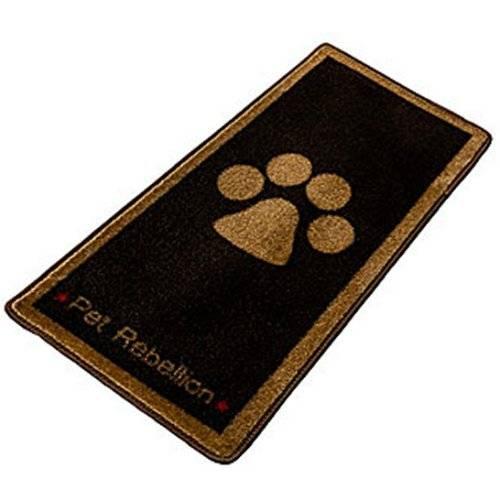 Tapis stop muddy paw chocolat pour chien pour chien difac auberdog - Tapis gazon pour chien ...