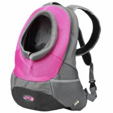Sac Backpack rose pour chien