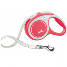 Laisse Sangle enrouleur Flexi New COMFORT Rouge