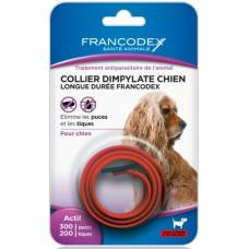 Collier Dimpylate chien rouge