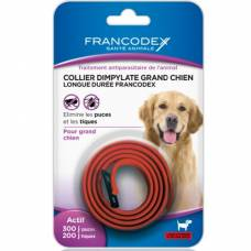 Collier Dimpylate grand chien rouge