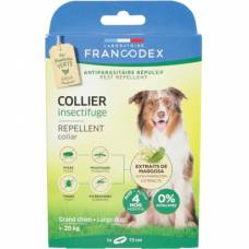 Collier insectifuge grand chien + de 20 kg