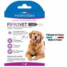 Fiprovet Duo grand chien 20 à 40 kg