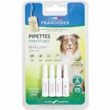 Pipettes antiparasitaires grand chien + 20kg