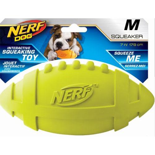 Ballon US Nerf sonore pour chien - Nerf Dog | Auberdog