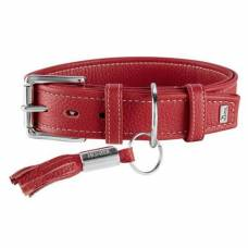 Collier chien Cannes rouge