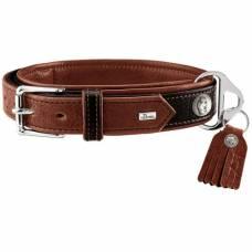 collier pour chien en cuir de luxe