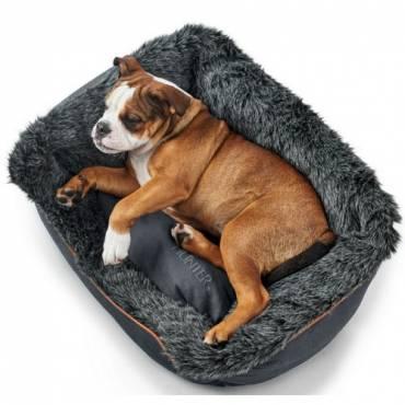 panier bergamo gris pour chien hunter auberdog. Black Bedroom Furniture Sets. Home Design Ideas