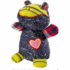 Peluche Patchwork Perry Grenouille