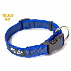 Collier Julius K9 color gray bleu