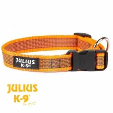 Collier Julius K9 color gray orange