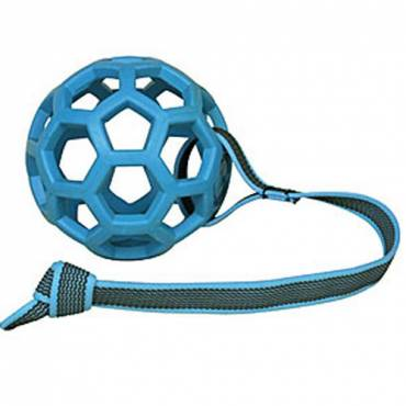 Balle Hol-Ee Roller corde pour chien - 1