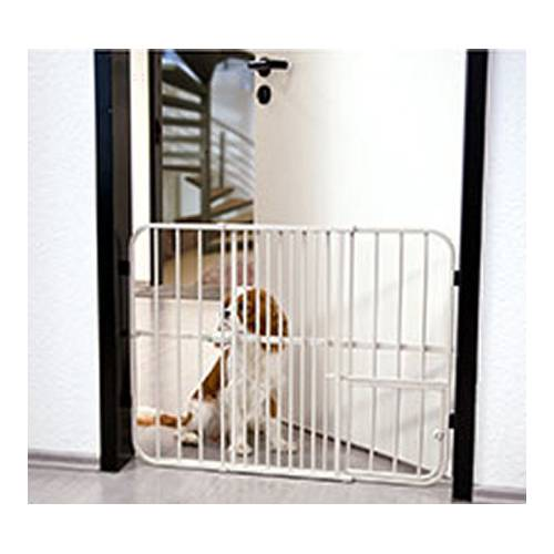 barri re de s curit pet gate pour chien karlie flamingo. Black Bedroom Furniture Sets. Home Design Ideas