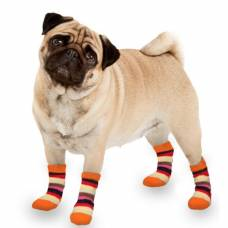 Chaussons Sockies orange