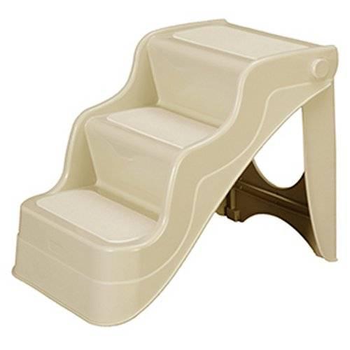 escalier pliable beige pour chien karlie auberdog. Black Bedroom Furniture Sets. Home Design Ideas