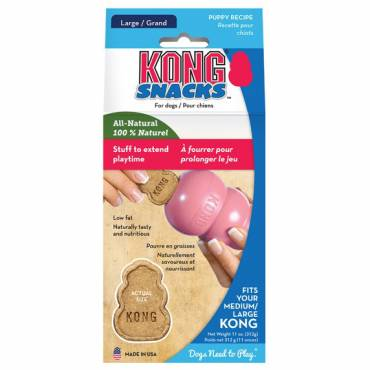 Friandise Kong Stuff'n Snacks chiot pour chien - Kong