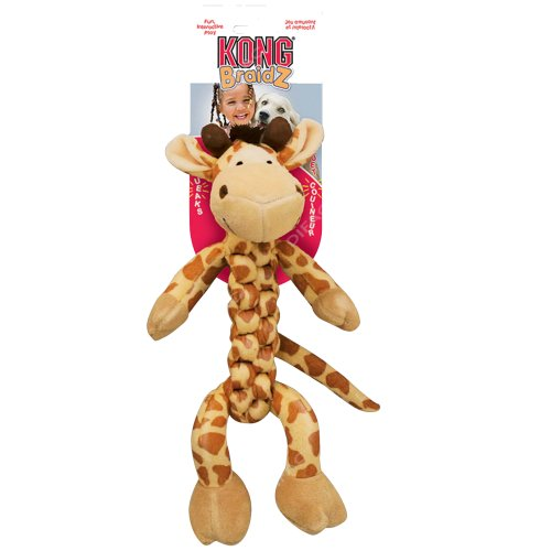 jouet peluche braidz girafe pour chien kong auberdog. Black Bedroom Furniture Sets. Home Design Ideas