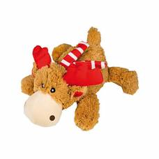 Peluche chien Kong Holiday Cozie renne