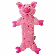 Peluche Kong Low Stuff cochon rose